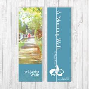 A Morning Walk Bookmark by Abigail Bryan