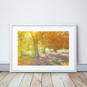 Drawing Near, Ellesmere in Shropshire Framed Print by Abigail Bryan