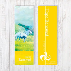 Hope Renewed Bookmark by Abigail Bryan