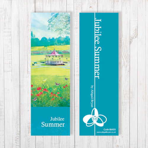 Jubilee Summer Bookmark by Abigail Bryan