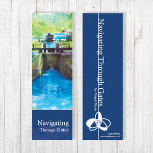 Navigating Through Gates Bookmark by Abigail Bryan