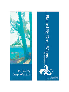 Planted By Deep Waters - Luxury Bookmark by Abigail Bryan