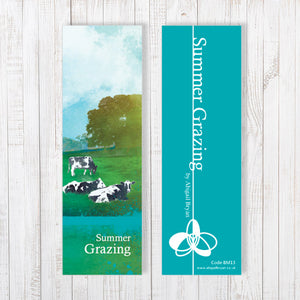 Summer Grazing Bookmark by Abigail Bryan