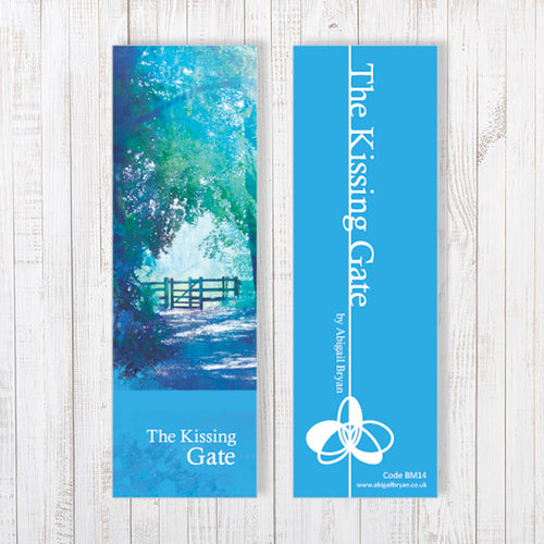 The Kissing Gate Bookmark by Abigail Bryan