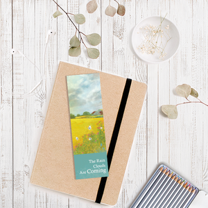The Rain Clouds Are Coming bookmark by Abigail Bryan
