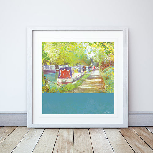 A Morning Walk Framed Print by Abigail Bryan