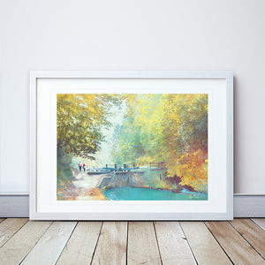 A New Season Begins II Framed Print by Abigail Bryan