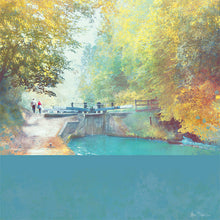 A New Season Begins, Audlem Canal in Cheshire by Abigail Bryan