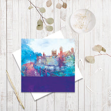 City Walls, Chester greetings card by Abigail Bryan