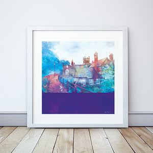 City Walls, Chester Framed Print by Abigail Bryan