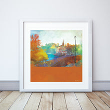 City Walls, River View, Chester Framed Print by Abigail Bryan