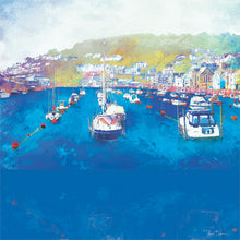 Harbour Rest, Looe in Cornwall by Abigail Bryan