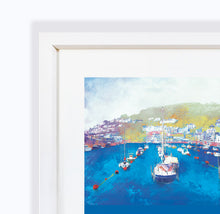 Harbour Rest, Looe in Cornwall, Framed Print by Abigail Bryan