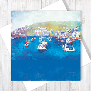 Harbour Rest - Greetings Card by Abigail Bryan
