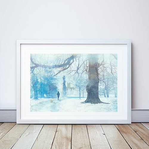 Heading Home Framed Print by Abigail Bryan