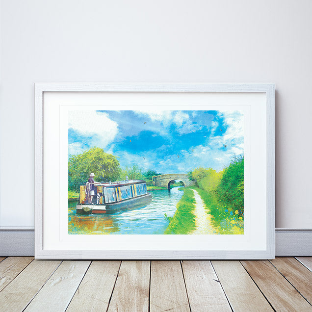Journey Of Hope II Framed Print by Abigail Bryan