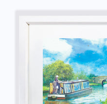 Journey Of Hope II, Audlem Canal in Cheshire, Framed Print by Abigail Bryan