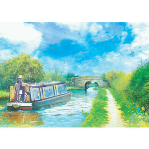 Journey Of Hope II, Audlem Canal in Cheshire by Abigail Bryan