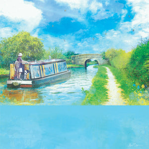 Journey Of Hope, Audlem Canal in Cheshire by Abigail Bryan
