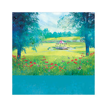 Jubilee Summer, Whitchurch - Greetings Card by Abigail Bryan