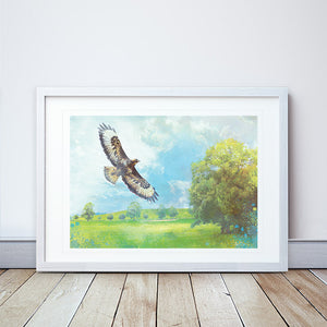 Lifted II Framed Print by Abigail Bryan