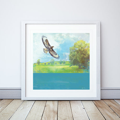 Lifted Framed Print by Abigail Bryan