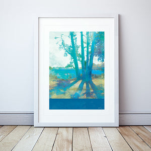 Planted By Deep Waters Framed Print by Abigail Bryan