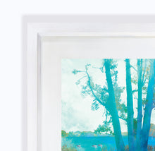 Planted By Deep Waters, Ellesmere in Shropshire, Framed Print by Abigail Bryan