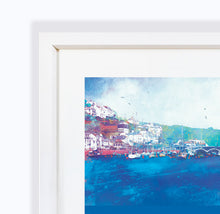 Still Waters, Looe in Cornwall, Framed Print by Abigail Bryan