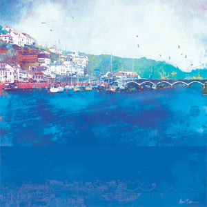 Still Waters, Looe in Cornwall by Abigail Bryan