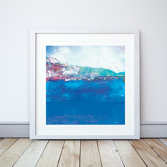 Still Waters Framed Print by Abigail Bryan