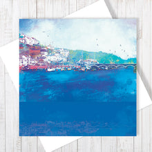Still Waters - Greetings Card by Abigail Bryan