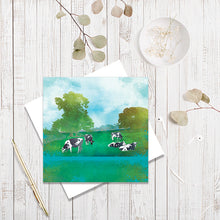 Summer Grazing greetings card by Abigail Bryan