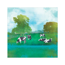 Summer Grazing - Greetings Card by Abigail Bryan
