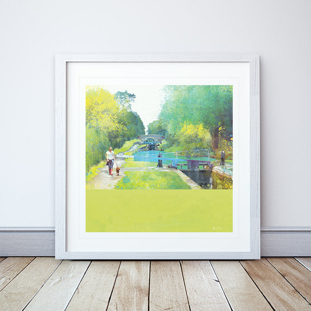 The Path Of Summer II Framed Print by Abigail Bryan