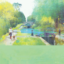 The Path Of Summer, Audlem Canal in Cheshire by Abigail Bryan