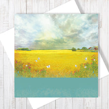 The Rain Clouds Are Coming - Greetings Card by Abigail Bryan