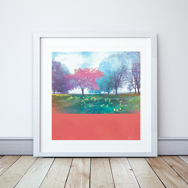 Time To Blossom Framed Print by Abigail Bryan