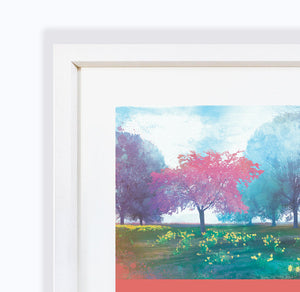 Time To Blossom, Frame Print by Abigail Bryan
