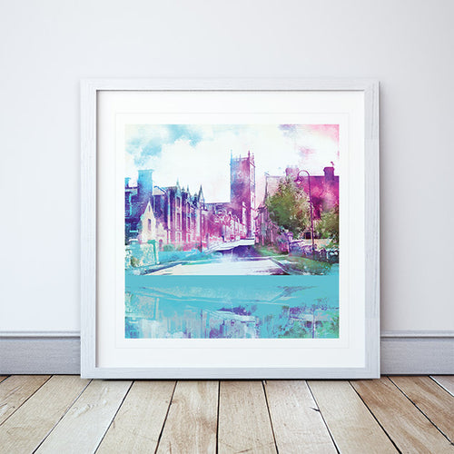 Whitchurch, Shropshire Framed Print by Abigail Bryan