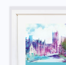 Whitchurch, Shropshire, Framed Print by Abigail Bryan