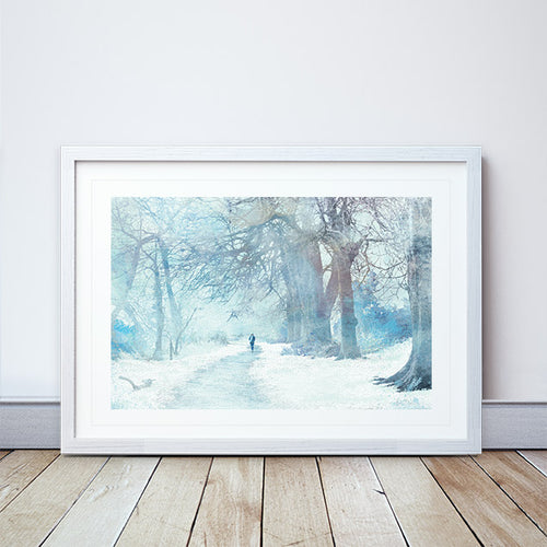 Winter Sojourn framed print by Abigail Bryan