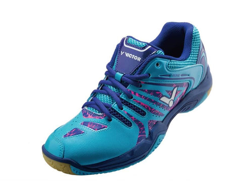Victor Badminton Shoes A390-FB Dina Blue/Mazarine Blue