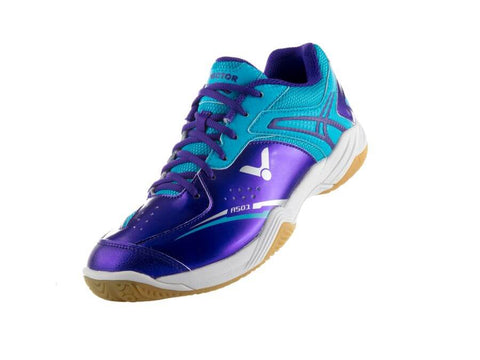 Victor Badminton Shoes A501-JM Violet/Peacock Blue