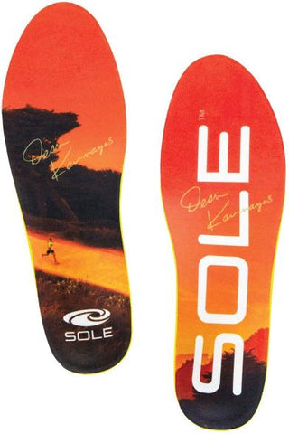SOLE Performance Thick Shoe Insoles Orange