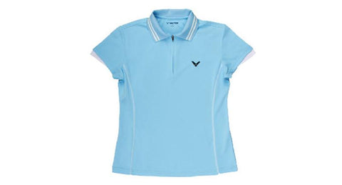 VICTOR 1123 LADIES POLO (BLUE)