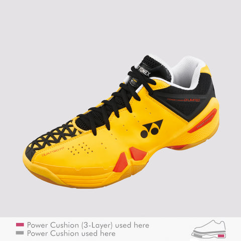 YONEX SHB-01LTD SHOES YELLOW