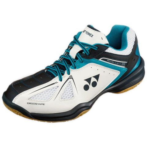 Yonex Badminton Shoes SHB35JR White/Blue Power Cushion 35 Junior