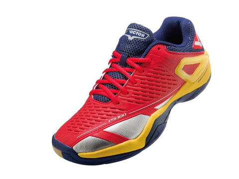 Victor Badminton Shoes P9300-DE High Risk Red/Yellow