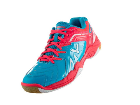 Victor Badminton Shoes A610F II-MQ Peacock blue/Pink